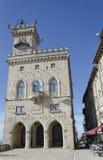 Il municipio di San Marino immagini stock