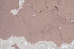Il muro di cemento con vecchio gesso ha scheggiato, fondo di struttura Fotografia Stock Libera da Diritti