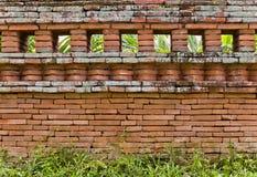 Il muro di mattoni Fotografie Stock Libere da Diritti