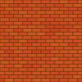 Il muro di mattoni Fotografia Stock