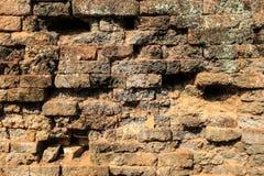 Il muro di mattoni antico immagini stock libere da diritti