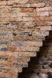 Il muro di mattoni antico Fotografia Stock Libera da Diritti