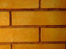 Il muro di mattoni arancio del tono di stile d'annata ha dettagliato il fondo strutturato modello: dettaglio della muratura della Fotografia Stock Libera da Diritti