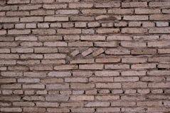 Il muro di mattoni governa la struttura di modello grigia di struttura della matrice Fotografia Stock Libera da Diritti