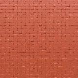 Il muro di mattoni rosso 3D rende Fotografia Stock Libera da Diritti