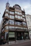 Il museo degli strumenti musicali a Bruxelles fotografia stock libera da diritti