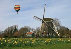 Il museo del mulino a vento a Amsterdam immagine stock libera da diritti