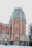 Il museo del palazzo nel parco di Tsaritsyno a Mosca Fotografia Stock Libera da Diritti