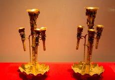 Il museo del tesoro del museo del palazzo a Pechino Immagine Stock Libera da Diritti
