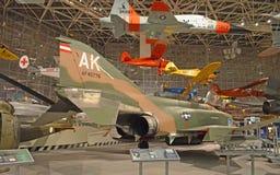 Il museo del volo Fotografia Stock Libera da Diritti