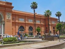 Il museo dell'Egiziano, Il Cairo Egitto 2013 può 16 Fotografia Stock Libera da Diritti