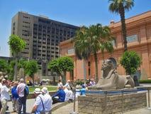 Il museo dell'Egiziano, Il Cairo Egitto 2013 può 16 Fotografie Stock