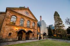 Il museo della birra di Sapporo fotografia stock