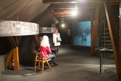 Museo di Franz Kafka a Praga Immagini Stock Libere da Diritti