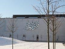 Il museo dello staedel sotto la neve Fotografie Stock Libere da Diritti