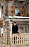 Il museo di architettura di legno Immagini Stock Libere da Diritti