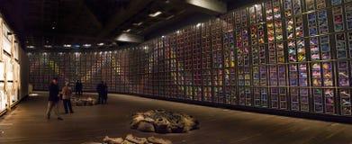 Il museo di arte contemporanea di Mona Immagini Stock Libere da Diritti