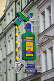 Il museo di Becherovka in Karlovy varia Immagine Stock