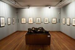 Il museo di Botero Immagini Stock