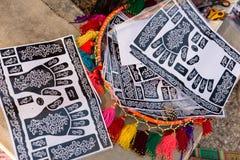 Il museo di cultura beduina - Joe Alon Center Fotografia Stock Libera da Diritti