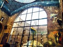 Il museo di Dali in Spagna, Figueras Fotografie Stock Libere da Diritti