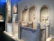 Il museo di Gerusalemme Fotografia Stock
