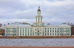 Il museo di Kunstkammer di antropologia e di etnografia in San Pietroburgo Fotografia Stock