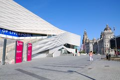 Il museo di Liverpool Fotografia Stock Libera da Diritti