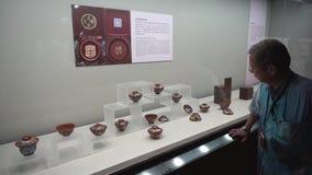 Il museo di palazzo nazionale in Taiwan stock footage