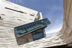 Il museo di Perot della natura e della scienza a Dallas, TX, U.S.A. fotografia stock libera da diritti