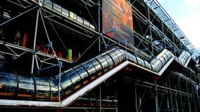 Il museo di Pompidou Immagine Stock Libera da Diritti