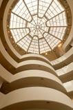 Il museo di Solomon R. Guggenheim a New York City Fotografia Stock Libera da Diritti