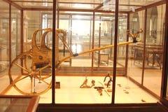 Il museo egiziano dall'interno fotografie stock libere da diritti