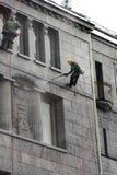 Il museo gigante di illusioni della casa del ` s sulla st di Bolshaya Morskaya fotografia stock