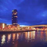 Il museo Guggenheim Bilbao Fotografie Stock Libere da Diritti