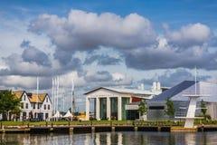 Il museo navale in Karlskrona Fotografia Stock Libera da Diritti
