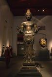 Il museo nazionale Bangkok, Buddha di pietra anziano Fotografia Stock