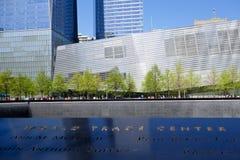 Il museo nazionale del memoriale dell'11 settembre Fotografie Stock