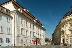 Il museo nazionale di Brukenthal Fotografia Stock Libera da Diritti
