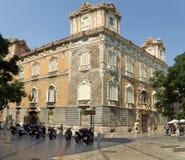 Il museo nazionale di ceramica e di arti decorative a Valencia Immagine Stock