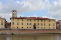Il museo nazionale di Royal Palace a Pisa, Toscana Italia fotografia stock