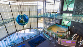 Il museo nazionale di scienza e di innovazione emergenti Immagini Stock