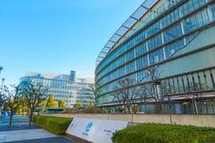 Il museo nazionale di scienza e di innovazione emergenti emergenti in Odaiba, Tokyo Immagini Stock Libere da Diritti