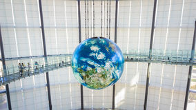 Il museo nazionale di scienza e di innovazione emergenti emergenti in Odaiba, Tokyo Fotografia Stock