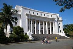 Il museo nazionale filippino fotografie stock