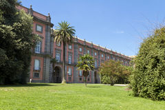 Il museo nazionale a Napoli, Italia Fotografia Stock