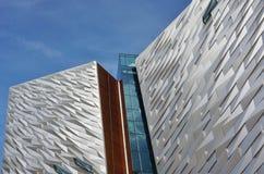 Il museo titanico di esperienza a Belfast, Irlanda del Nord immagini stock