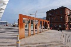 Il museo titanico di esperienza a Belfast, Irlanda del Nord immagine stock libera da diritti