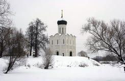 Il Na Nerli di Pokrova della chiesa Fotografia Stock Libera da Diritti