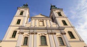 Il Nagyboldogasszony-templom a Budapest immagine stock